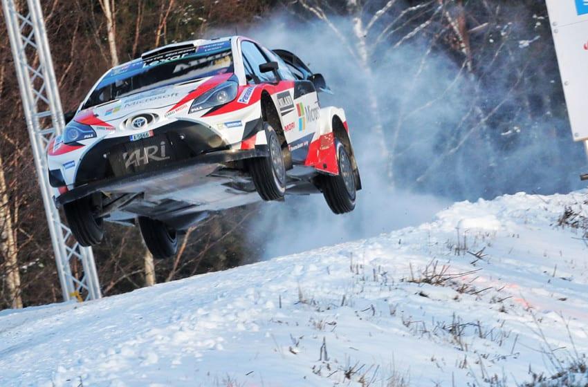 Toyota WRC'ye zaferle döndü