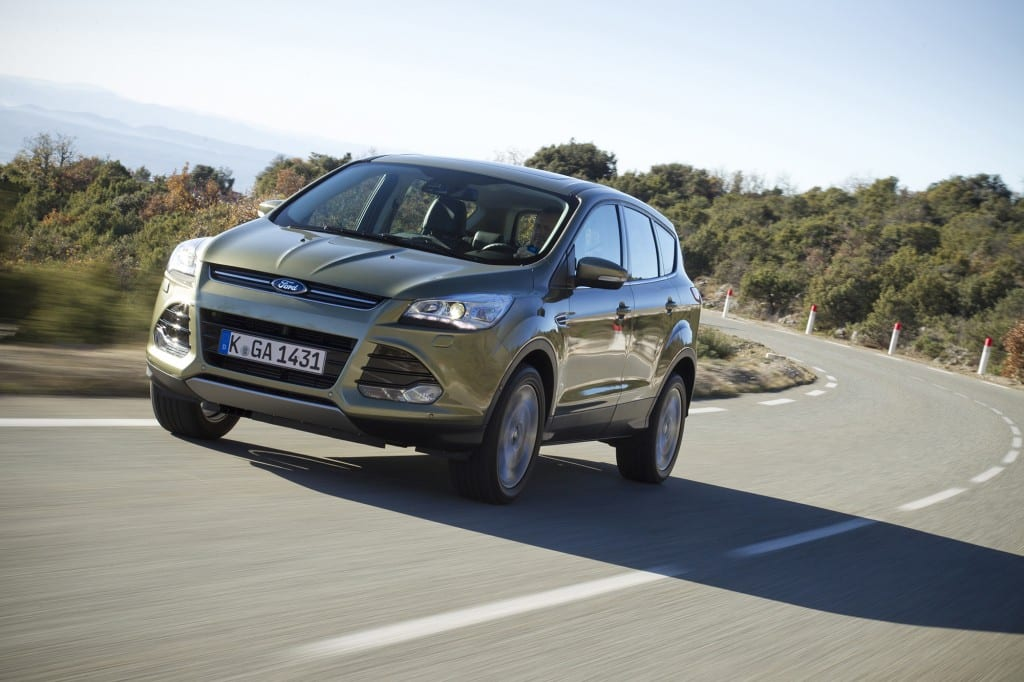 Yeni Ford Kuga  www.e-motoring.com