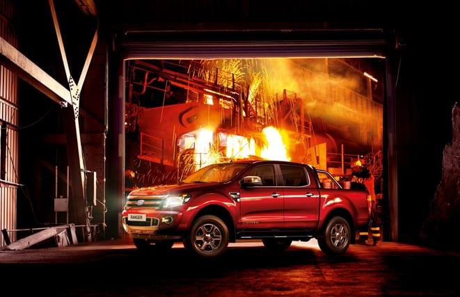 """Ford Ranger'a """"Uluslararası Pick-Up 2013"""" ödülü"""