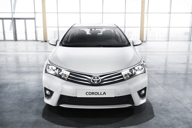 Yeni Corolla ay sonunda piyasada