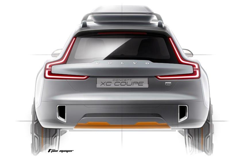 Volvo'nun XC Coupe'ye tasarım yolculuğu