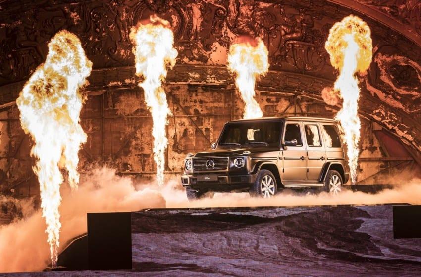 Mercedes-Benz yıldızları Detroit'te parlıyor