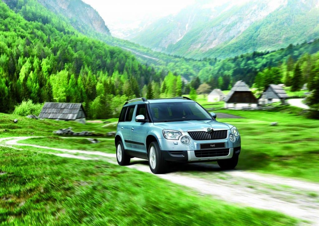 Škoda Yeti, www.e-motoring.com
