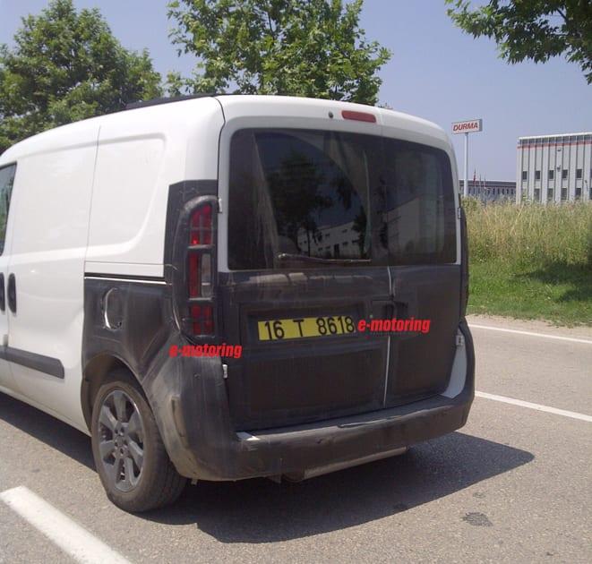 Fiat Doblo Ram ProMaster City facelift www.e-motoring.com
