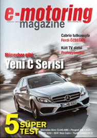 Dijital dergimiz e-motoring magazine Ocak sayısıyla karşınızda