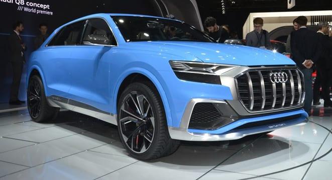 Audi Q8 konseptini tanıttı