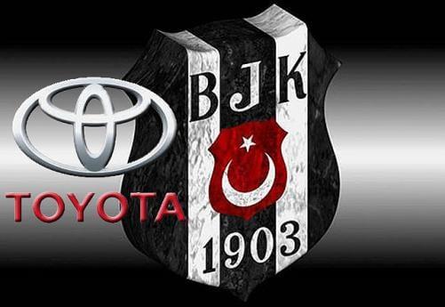 Beşiktaş'ın göğüs sponsoru Toyota