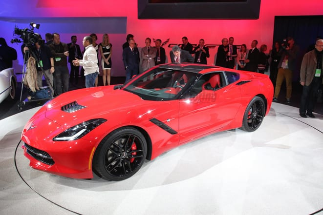 VIDEO Chevrolet Corvette C7 Stingray