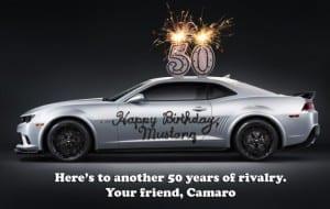 camaro-mustang-birthday-