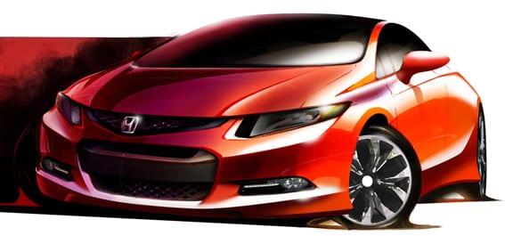 Falda yeni Civic çıktı!