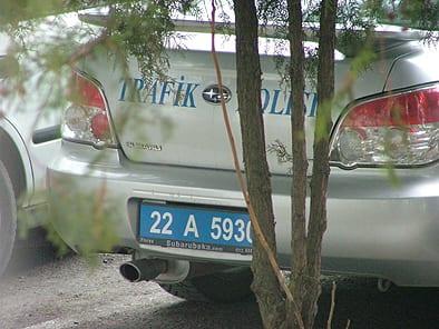 Dikkat! Trafik'te Subaru Impreza var!