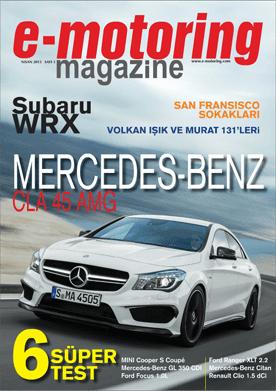 e-motoring magazine Nisan sayısı yayında