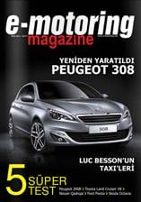 e-motoring magazine Ekim sayısı yayında