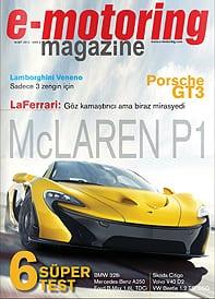 e-motoring magazine yayında