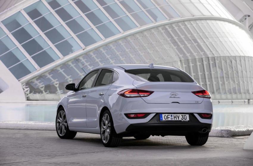 i30 Fastback, Avrupa'da piyasada