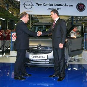 Tofaş bantlarından Opel Combo çıktı