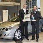 Opel Astra'ya Dekra Ödülü