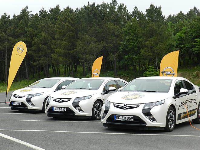 Ve Ampera 30 araçla Europcar filosunda