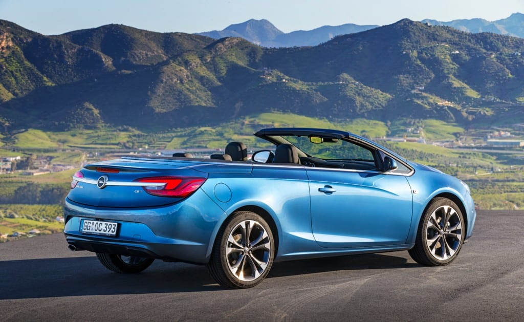 Opel Cascada www.e-motoring.com