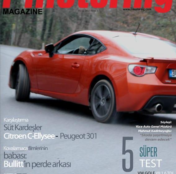 Aylık dijital dergimiz yayında