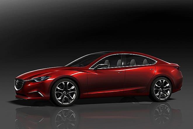 Yeni Mazda6'nın ipuçları Tokyo'da