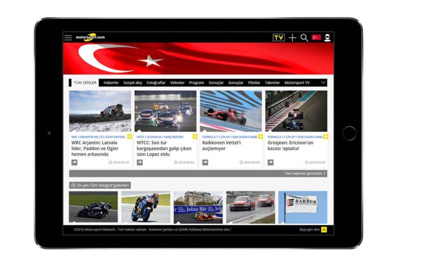 Motorsport.com'dan dikkat çekici satın alma