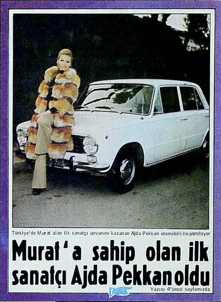 Ajda Pekkan Murat 124 www.e-motoring.com