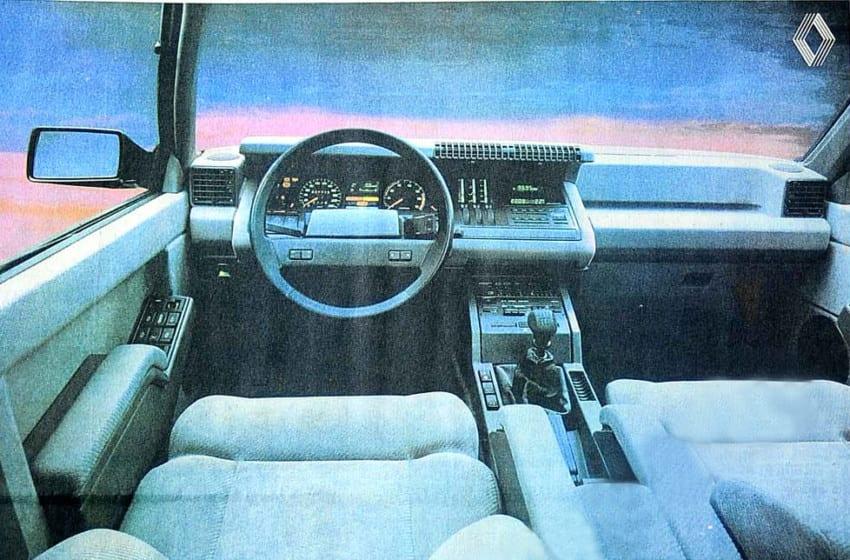 1984 Renault kreasyonu