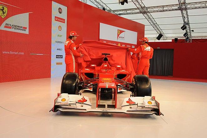 İşte Ferrari F2012!