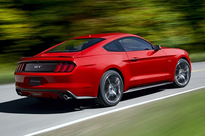 İşte yeni Mustang!
