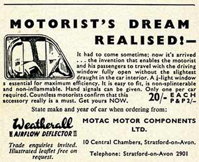 1940'larda sürücülerin rüyasıymış!