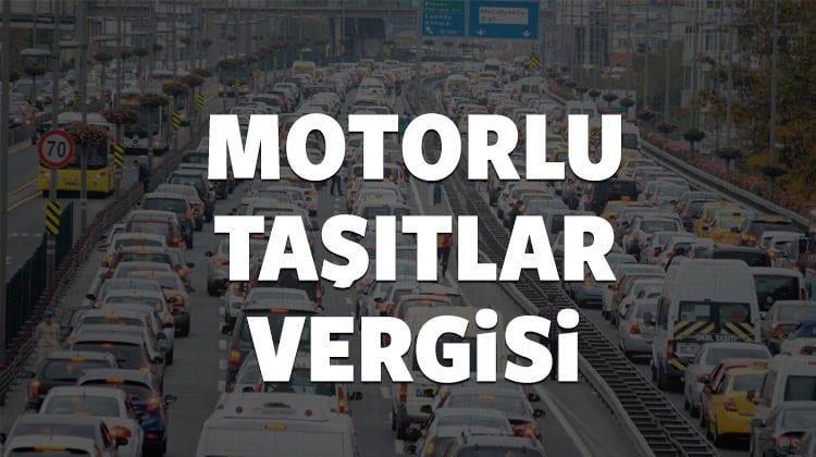 İşte yeni Motorlu Taşıt Vergileri