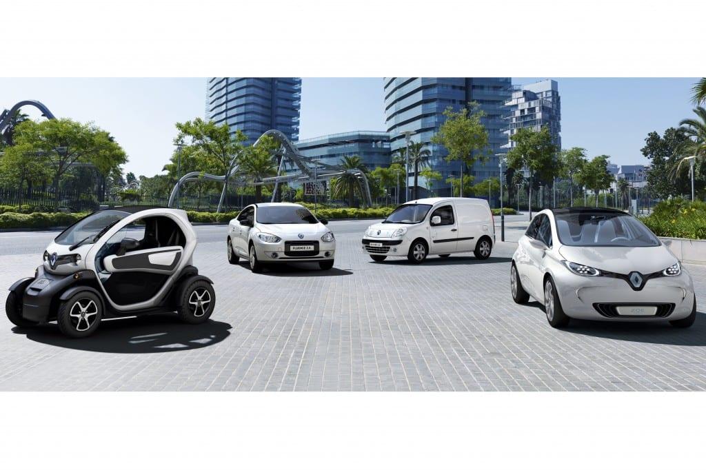 Renault ZE urun gami www.e-motoring.com